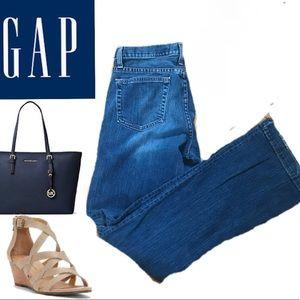 Gap Long & Lean Bootcut Denim Jeans Sz. 8 Long